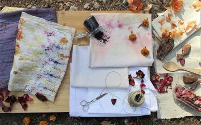 How to achieve a more sustainable natural dyeing process.